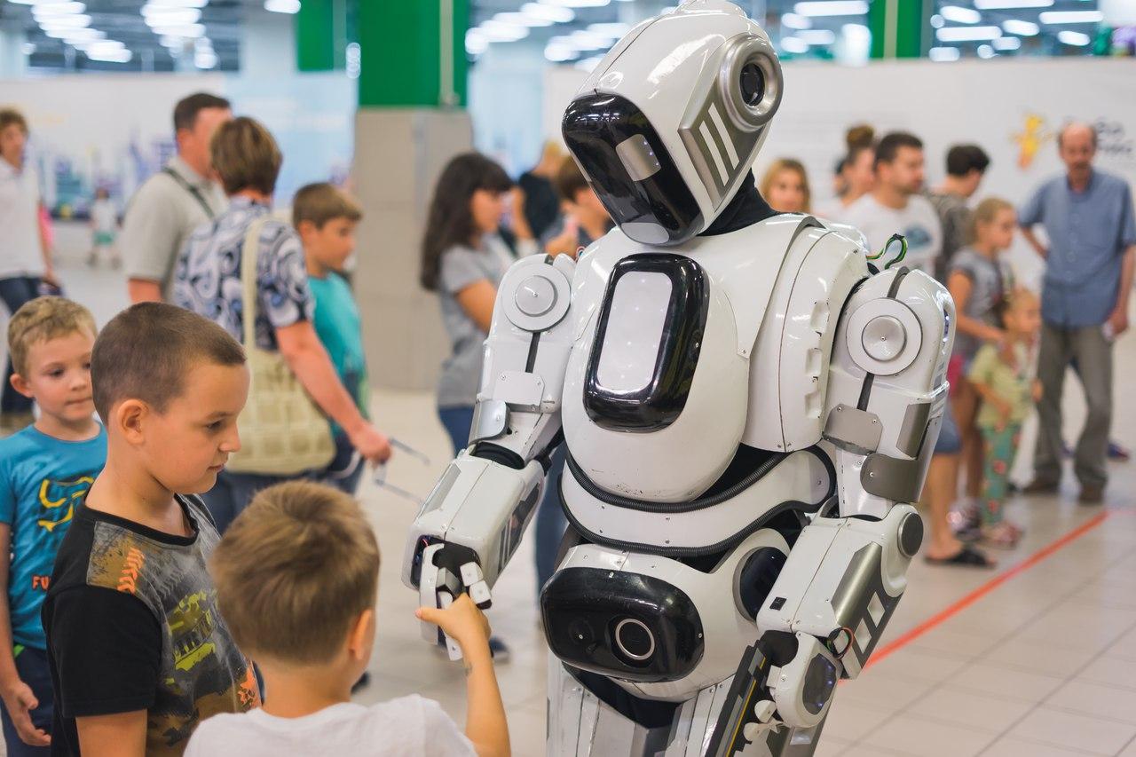Выставка роботов «Робопарк» в Сочи