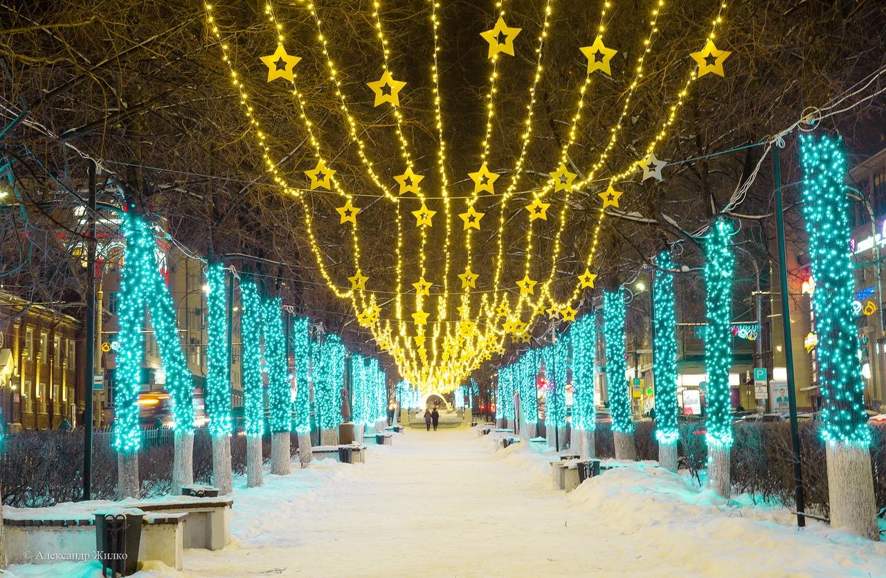 Новогодние картинки перми